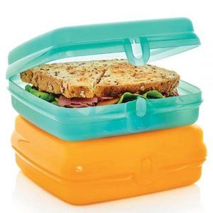 Tupperware Sandwich Keepers 2-Pc. Set